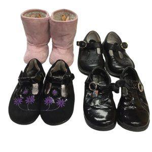 BUNDLE ( Stride Rite Size 6 Barefoot Size 6 Shoes)